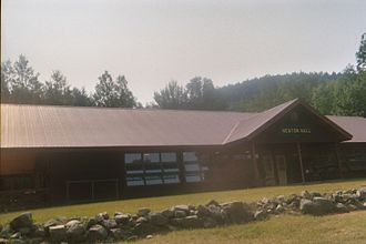 Westchester–Putnam Council - Newton Hall, the dining hall for Buckskin