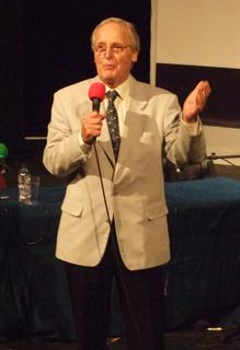 Nicholas Parsons British actor and presenter