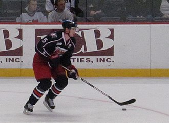 Nick Holden - Holden during his tenure with the Springfield Falcons.