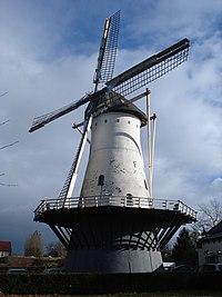 Nijmegen rijksmonument 31207 De Witte Molen, Graafseweg.JPG