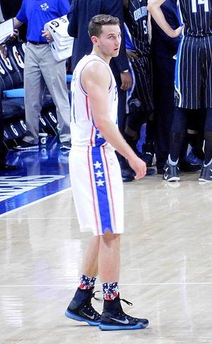 Nik Stauskas - Stauskas as a 76er in 2015