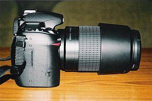 Nikon F 70-300mm lens - Image: Nikon D80 70 300mm lens 031