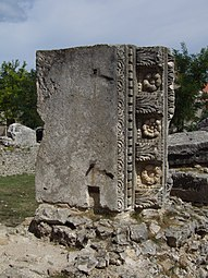 Nin - ruins of Roman temple.JPG