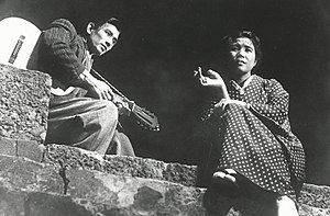 A Japanese Tragedy - Still photo of A Japanese Tragedy (Nihon no Higeki), 1953