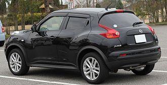 Nissan Juke - Rear view