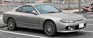 Nissan Silvia - Nissan Silvia (S15) in Japan