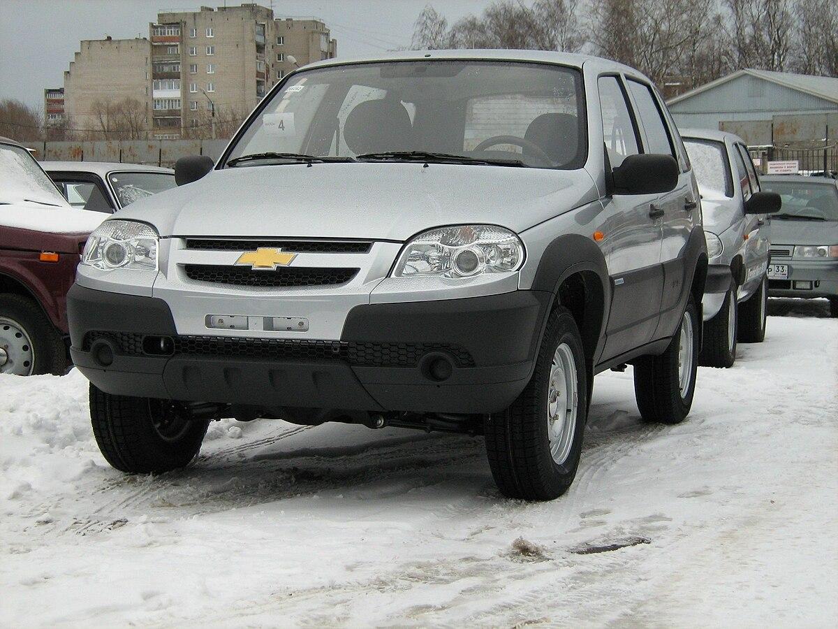 Chevrolet niva wikipedia