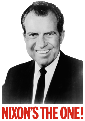 Rick Perlstein - Richard Nixon Election poster (1968)
