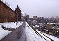 Nizhny Novgorod View to Taynitskaya Tower of Kremlin.jpg