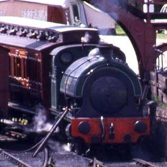 Lambton Railway - Image: No.14, Town railway, Beamish Museum, 9 August 1990