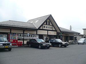 Yosano Station - Station building