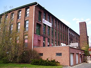 North Adams, Massachusetts - The Norad Mill in 2012