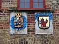 Nordertor Flensburg Wappen Flensburg u Christian IV.JPG