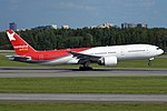 Nordwind Airlines, VQ-BUD, Boeing 777-2Q8 ER (16430172976) (4).jpg