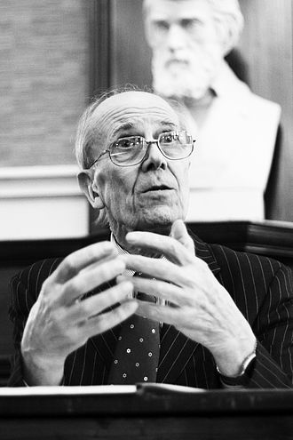 Secretary of State for Business, Energy and Industrial Strategy - Image: Norman Tebbit Edinburgh University Politics Society 2008
