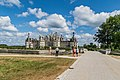 North-west exposure of the Chambord Castle 03.jpg