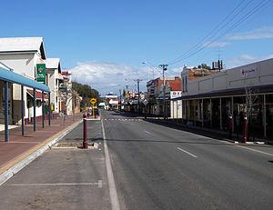Northam, Western Australia - Image: Northam street SMC
