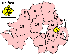 Parliamentary constituencies in Northern Ireland