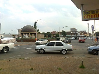 Springs, Gauteng - Northern Entrance to the Springs CBD