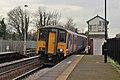 Northern Rail Class 150, 150203, Huyton railway station (geograph 3818385).jpg