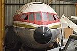 Nose of de Havilland Comet 4C (G-BEEX) (24806496097).jpg