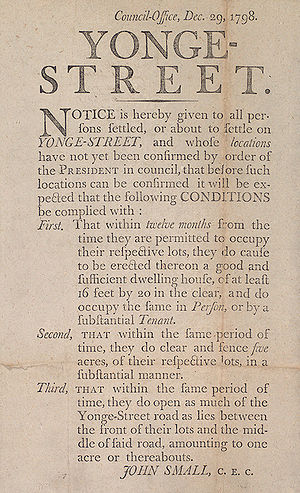 English: Government notice describing the duti...