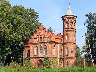 Nowy Duninów Village in Masovian Voivodeship, Poland