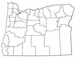 Luogo di Oatfield, Oregon