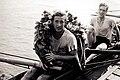 Oarsmen after a boat race in 1947.jpg