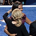 Obama and Biden families on-stage at the 2012 Democratic National Convention (02).jpg