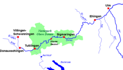 kart over donau Aachtopf – Wikipedia kart over donau