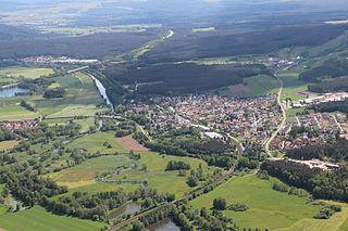 Haidenaab River in Germany