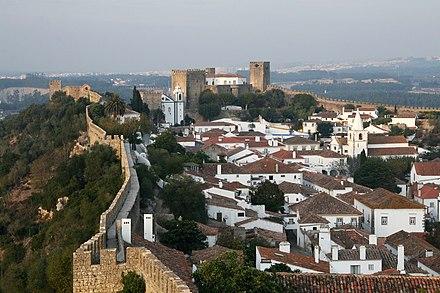 Ville et forteresse d'Óbidos