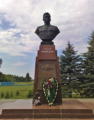 Памятник в селе Ображиевка