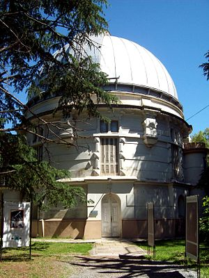 Carlos Jaschek - The Observatory at La Plata, Argentina. The Jascheks started here, and left Argentina in 1973.
