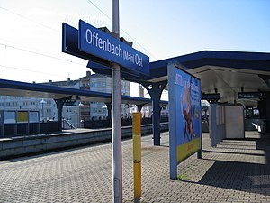 Offenbach Ost station - Offenbach (Main) Ost station