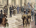 Official proclamation of Queen Victoria as Empress of India on the steps of the Stock Exchange, London.jpg
