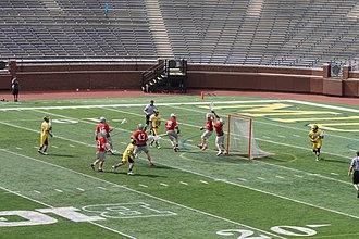 Ohio State Buckeyes men's lacrosse - Image: Ohio State vs. Michigan men's lacrosse 2015 27