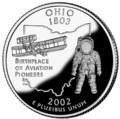Ohio quarter, reverse side, 2002.png