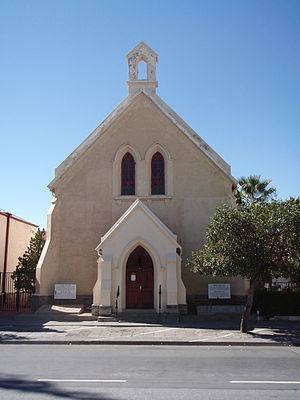 Beaufort West - Old style church in Donkin Street