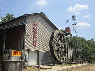 Lindale, Texas - Local history is highlighted in the Old Mill Pond Museum in Lindale.
