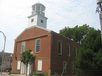 Newburgh, Indiana - The Old Newburgh Presbyterian Church