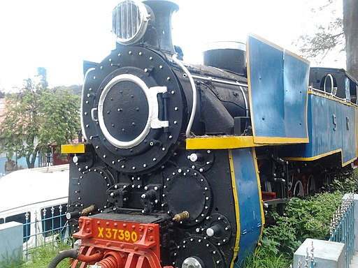 Old Steam Engine - Ooty