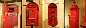 Postage stamps and postal history of Australia - Old Australian Postboxes - National Museum