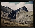 """Old lead mines here have been reopened, Creede, Colo. Creede for many years was """"a ghost town,"""" but has resumed the activities that made it an important lead producing center years ago, and LCCN2017878854.jpg"""