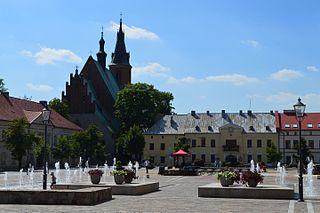 Olkusz Place in Lesser Poland Voivodeship, Poland