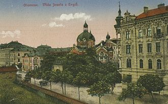 Olomouc - Olomouc Synagogue, 1900s