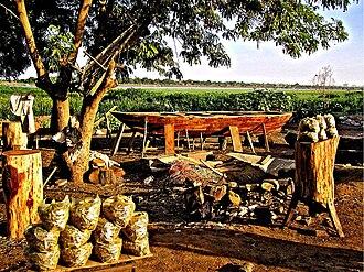 Omdurman - Boat building