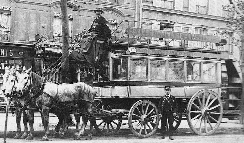 Chevaux - Taxi - Omnibus - Transports - Paris - XIXe siècle - Véhicule - SchoolMouv - Histoire - CM2