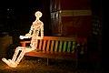 On a park bench, Rafiq Sarlie.jpg